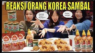 Video REAKSI LUCU ORANG KOREA COBA SAMBAL & NASI DI KFC KOREA Pedas Muntah!(Sambal Terasi dll) MP3, 3GP, MP4, WEBM, AVI, FLV Juli 2019