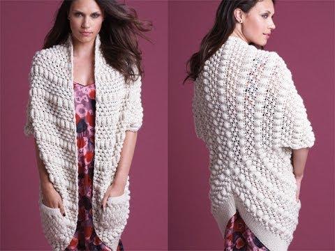 #16 Textured Cardi, Vogue Knitting Fall 2010