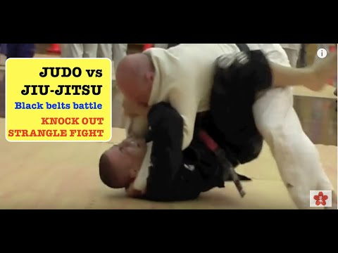 BJJ V JUDO- A shocking Strangle