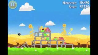 Angry Birds Seasons Summer Pignic Level 8 Walkthrough 3 Star