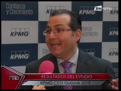 Resultados del estudio KPMG CEO Outlook 2019