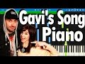 Lindsey Stirling - Gavi's Song ( Piano Version ) Synthesia tutorial