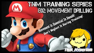 E02: Movement Drilling – Develop movement drills to help refine your movement in smash using stage builder and other effective methods.