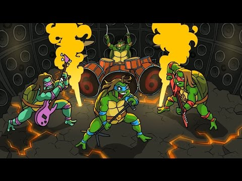 JACK BLACK MUTANT NINJA TURTLES На Русском Языке By Точка Z 18+ БЕЗ ЦЕНЗУРЫ (видео)