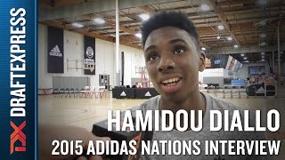 Hamidou Diallo 2015 Adidas Nations Interview
