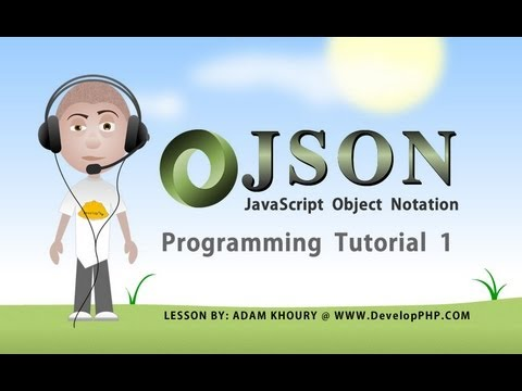 how to define json