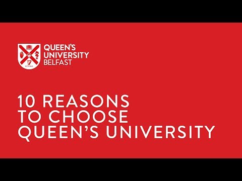Why study at Queen's University Belfast (QUB)?