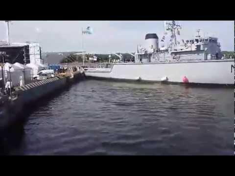 Демонстрация способностей ВМФ Литвы