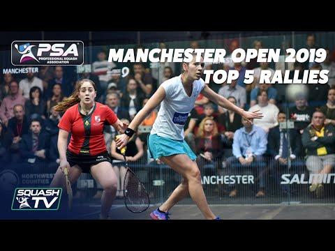 Squash: Manchester 2019 - Top 5 Rallies