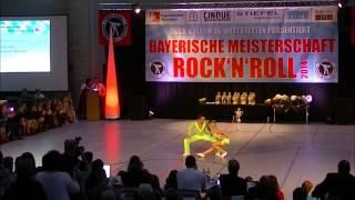 Nicole Kalb & Alexander Kapsalis - Bayerische Meisterschaft 2014