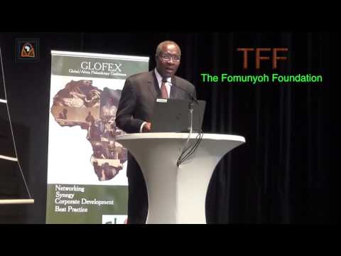 GLOFEX 2016 - Dr Christopher Fomunyoh's Keynote Sp