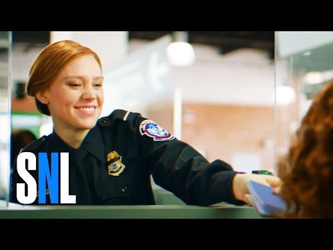 Saturday Night Live US Customs Welcome Video