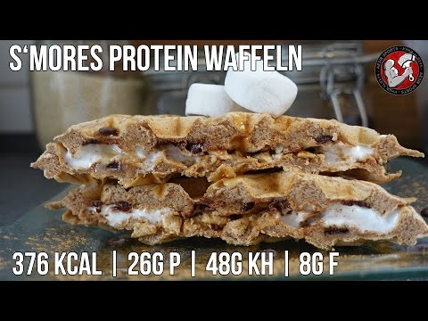 Protein Smores Waffeln | High Protein Waffeln