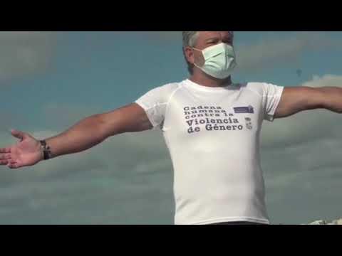 V Cadena Humana en Isla Cristina contra la Violencia de Genero