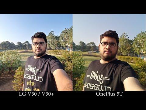 LG V30+ vs OnePlus 5T Camera Comparison