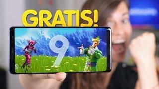 Galaxy Note 9 ¡¡GRATIS!! fortnite incluído