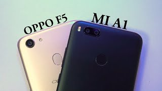 Video Oppo F5 vs Mi A1 Camera Comparison MP3, 3GP, MP4, WEBM, AVI, FLV November 2017