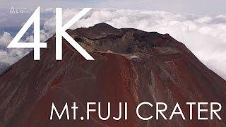4K空撮 / 富士山頂火口