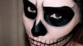 Video EASY SKULL MAKEUP - HALLOWEEN | MissCharlotte MP3, 3GP, MP4, WEBM, AVI, FLV November 2018