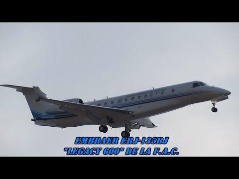 Un nuevo reactor VIP Embraer ERJ-135BJ...