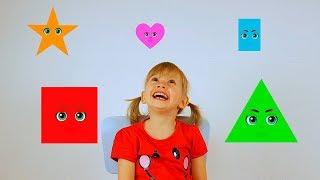 تعلم الأشكال أغنية للأطفال الحضانة القوافي للأطفال