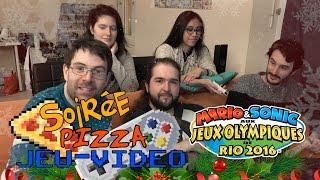 Video Soirée Pizza d'Hiver!  Mario et Sonic aux JO d'été ! MP3, 3GP, MP4, WEBM, AVI, FLV Juli 2017