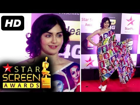Adah Sharma At Star Screen Awards 2018 | Red Carpet