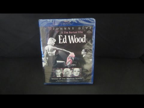 Ed Wood Blu Ray Unboxing/Review