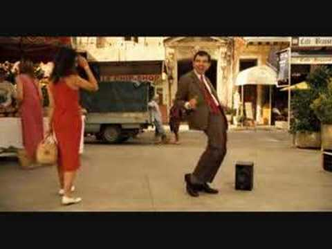 Mr. Bean nos ensea a bailar