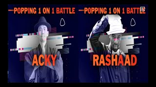 Acky vs Rashaad – BBIC KOREA WORLD FINALS 2019 Popping Semi Final