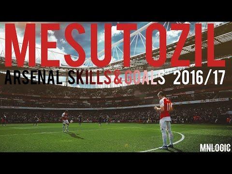 Mesut Ozil ● Skills & Goals ● 2016/17