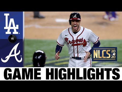 Braves erupt for 10 runs in Game 4 win over Dodgers | Dodgers-Braves Game 4 Highlights