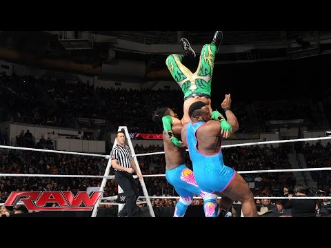 The Lucha Dragons vs. The New Day: Raw, December 7, 2015