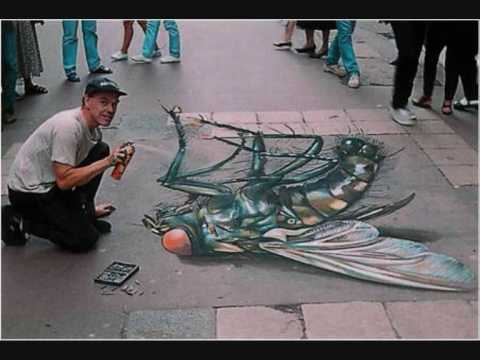 Julian Beever Chalk Drawings