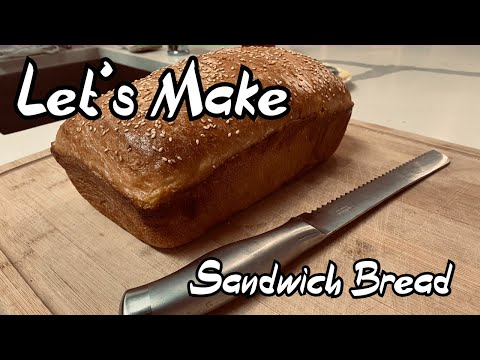 Sesame Seed Sandwich Bread - Easy Bread Recipes
