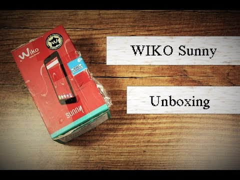 4 Zoll Smartphone im Unboxing : Wiko Sunny