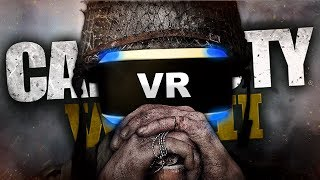 CALL OF DUTY WORLD WAR 2 WITH A PLAYSTATION VR