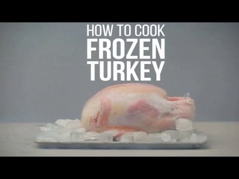 Cook Frozen Turkey perfectly   Cooking Frozen Turkey  for Thanksgiving   How To Cook a Frozen Turkey