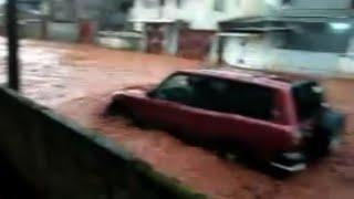 Pelo menos 312 pessoas morreram nesta segunda-feira na capital de Serra Leoa, Freetown, onde fortes chuvas provocaram deslizamentos e rios de lama. Segundo a...