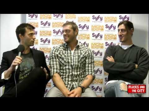 Haven Dance Party Interview - Adam Copeland, Eric Balfour & Lucas Bryant