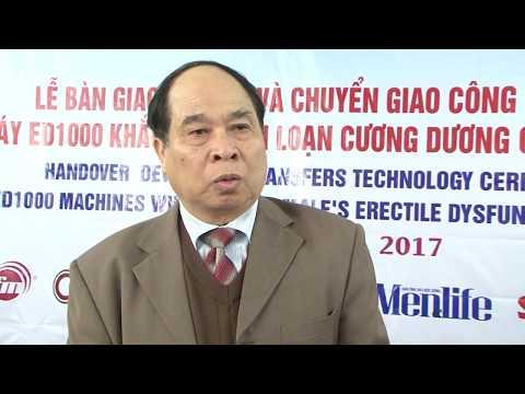 Ông Nguyễn Thiện Trưởng – Nguyên thứ trưởng Bộ Y Tế nói về ED1000 tại buổi lễ chuyển giao công nghệ