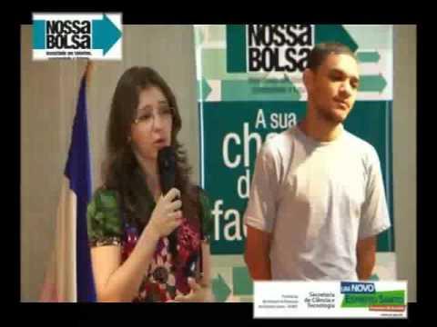 Depoimentos de alunos do NOSSABOLSA em Linhares/ES