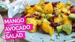 Mango Avocado Salad Recipe