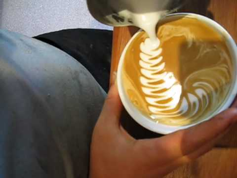 the latte zoo- (mixed animal latte pours)