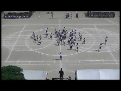 集団行動 堅粕小学校 体育会