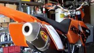 7. FMF on KTM 250 XCF-W / EXC-F Exhaust Comparison