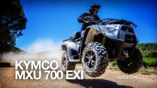 6. TEST | KYMCO MXU 700 EXi, le baroudeur d'exception !