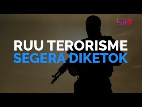 RUU Terorisme Segera Diketok