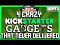 4 crazy Kickstarter gadgets that never delivered - SGR