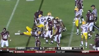 Sam Montgomery vs Mississippi State & Auburn (2011)